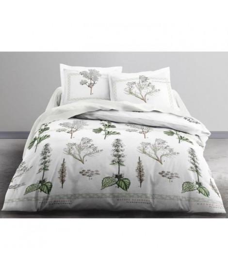 TODAY Parure de couette Enjoy NATURAL RESERVE 100% coton  - 220 x 240 cm - Blanc