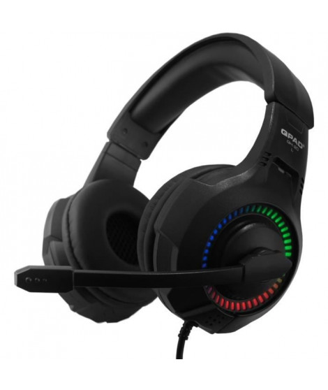 QPAD Casque gaming esport QH20 Stereo