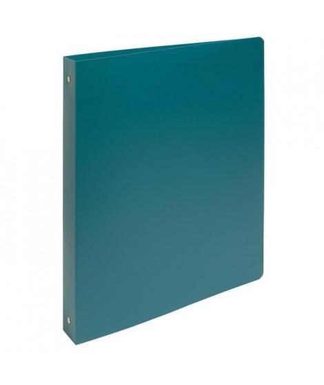 EXACOMPTA Classeur 4 anneaux A4 Maxi Polypropylene Opaque Vert