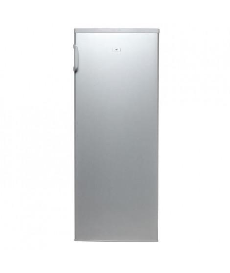 CONTINENTAL EDISON F1DL250BS - Réfrigérateur 1 porte - 250L - Froid brassé - A+ - L 55,2cm x H 144,9cm - Silver