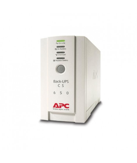 APC Onduleur Back-UPS CS/650VA 230V