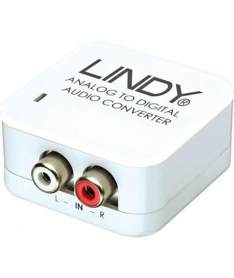 LINDY Convertisseur audio analogique vers SPDIF numérique