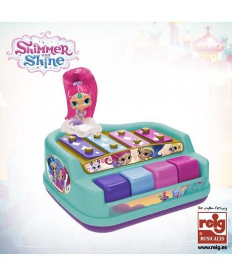 SHIMMER SHINE Xylophone - Boîte litho avec fenetre