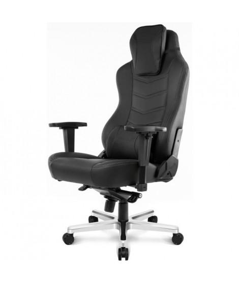 AKRACING Series Office ONYX - AKONYXBL - Siege Confort de bureau tres haut de gamme full options en cuir polyuréthane - Noir