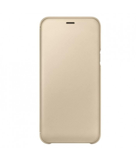 Samsung Etui Flip Wallet A6 - Or