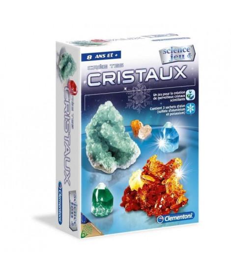 CLEMENTONI Science & Jeu - Crée des cristaux - Jeu scientifique