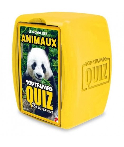 TOP TRUMPS - Quiz Animaux 500 questions - Version française
